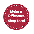 Make a difference, shop local